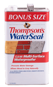 Thompson Waterseal 1gal Clear