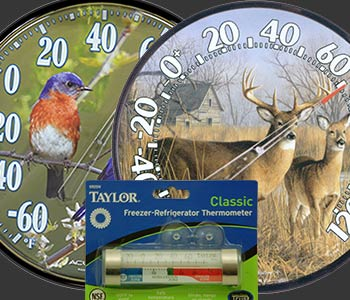 clocks, thermometers image