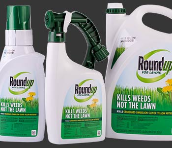 fertilizer and weed killer