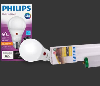 PaulB Hardware Light Bulbs, Philips