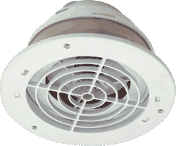 Soffit Exhaust Vent 4″ or 6″ Duct