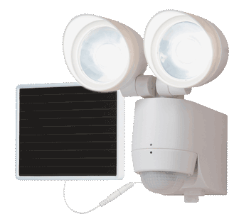 Solar LED Motion-Activated Floodlight