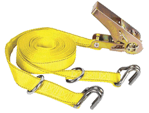 Ratchet Tie Down 1″ x 16′ 1,000lb