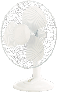 Desk Fan 16″ 3sp Oscillating