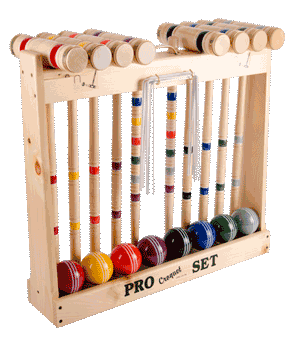 8 Player Croquet Set
