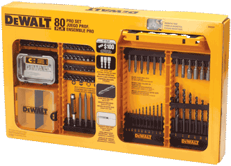 DeWalt 80pc Drilling & Driving Set