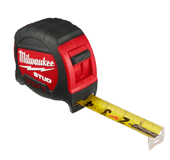 25&#8242; Milwaukee STUD Tape Measure <br />(16&#8242; Also Available)