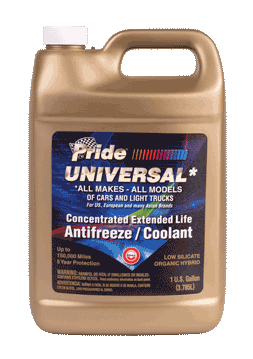 Antifreeze/Coolant Universal Gold Concentrate Gallon