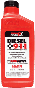 Diesel +911 Fuel Treatment 32oz