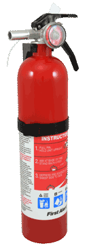Fire Extinguisher 2.5lb 1A 10B C