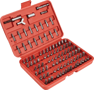 Insert Bit Set, 100pc