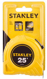 Stanley 25′ Tape Measure