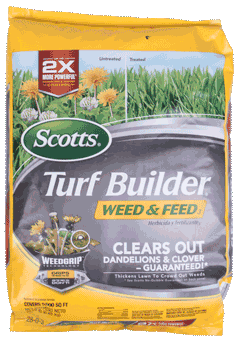 Turf Builder Weed & Feed, Covers 5,000sq ft