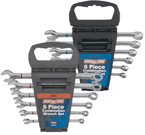 Channellock Wrench Set, 6pc Metric or SAE (Your Choice)