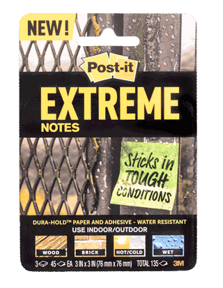 Post-It Notes, Extreme