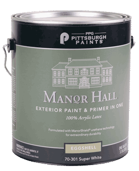 Pittsburgh Manor Hall Exterior Paint<br >Gallons Only