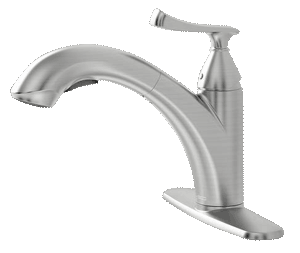 American Standard Kitchen Faucet w/Pull-out Spout