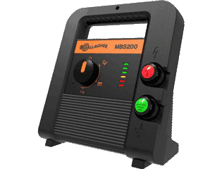 Gallagher MBS200 Multi-Powered Fence Charger / Energizer
