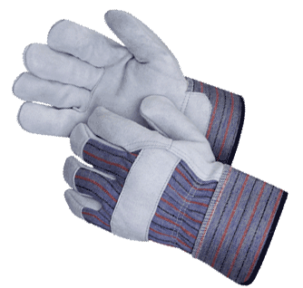 Leather Palm Work Gloves 12pk