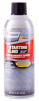 Penray Starting Fluid <br />High Ether Content 11oz Can
