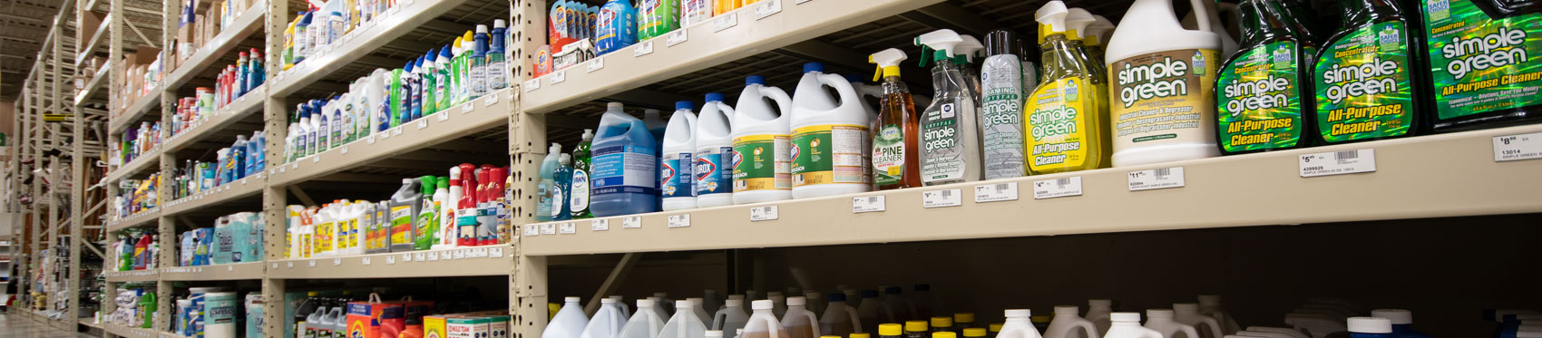 New Cleaning Supplies Racking - Shelving
