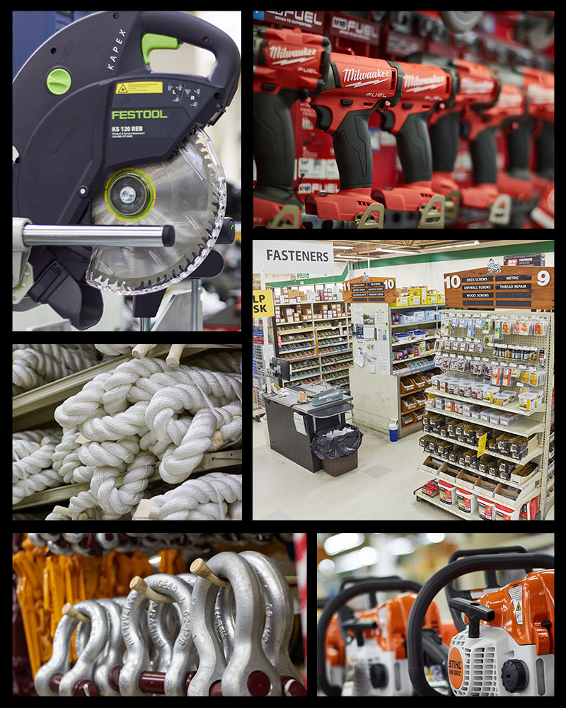 PaulB Hardware Collage