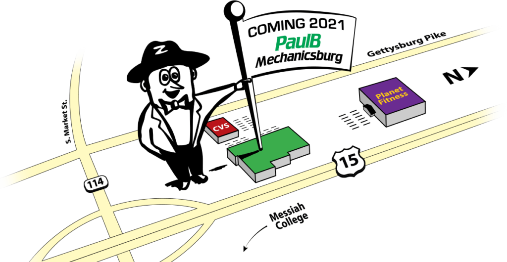PaulB Hardware Mechanicsburg Coming Soon!